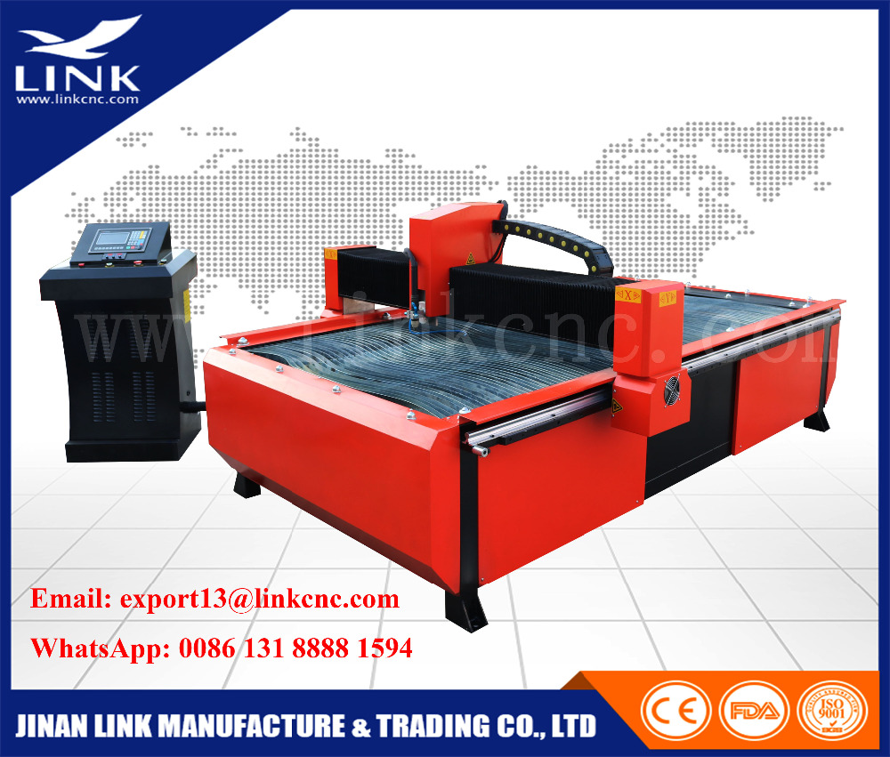 cnc cutting machine price / table type cnc plasma / flame stainless steel cutter