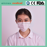 Disposable 3 Ply Non-Woven Medical Face Mask (Disposable Dental Products)