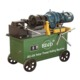 Non-standard pitch thread rolling machine used in construction projects