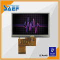 4.3inch tft lcd 480x272 manufacture display with touch panel