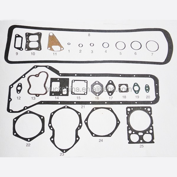 Weichai WD615 Engine Gasket Kit