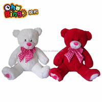 Best selling 100% Cotton Red Cute Giant Big Stuffed Plush Teddy Bear Huge Soft Toy Hot