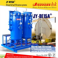 Top quality two tanks marine oil refinery for big oil depot