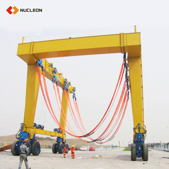 160 Ton Double-Door Gantry Mobile Crane Price