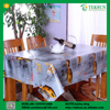 Hot sale printed silicone table cloth for relaxation