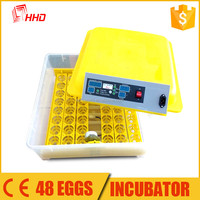 12 months warranty best price solar eggs incubator for quail in south africa YZ8-48