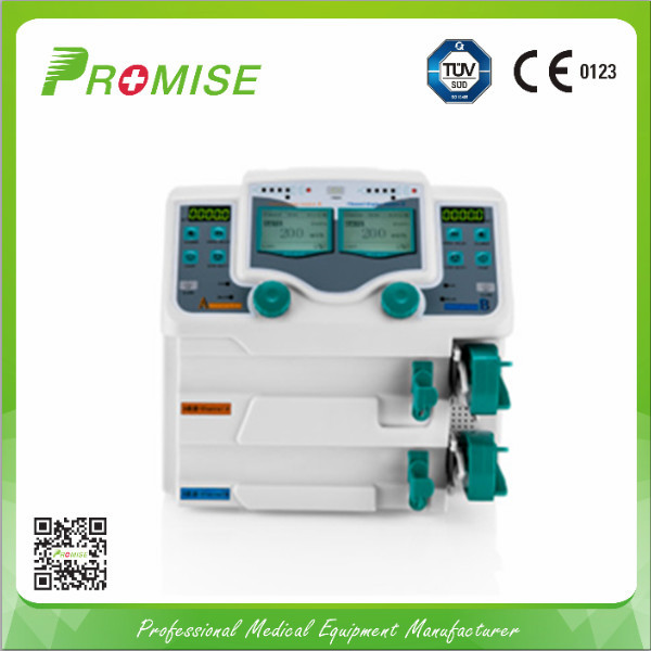 Met pump iv pump veterinary with syringe infusion intelligent double channel infusion pump (PRO-SP200)