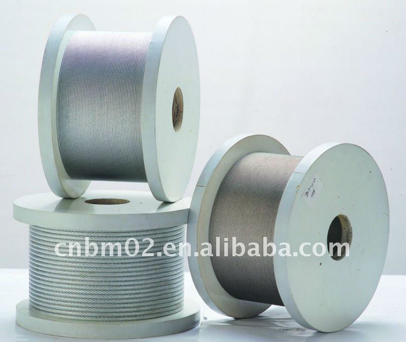 steel wire cable, galvanized steel wrie rope, ungalvanized steel wire rope