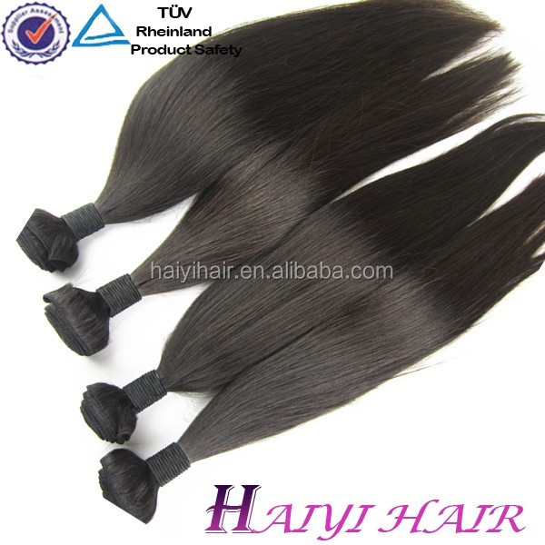 Direct Factory Wholesale No Tangle No Shedding Double Weft Virgin Brazilian Hair 8 inch Hair weaving remy extension