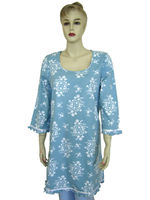 100% cotton women nightshirt