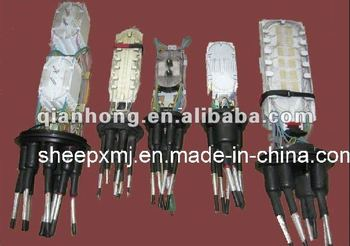Vertical type fiber optic joint closure