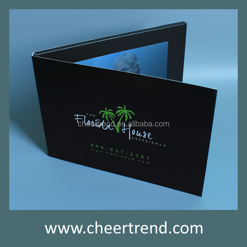 2.4/2.8/3.5/4.3/7 inch video greeting card