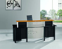 Glass Information Desk- Office Reception Table ( FOHXL-002#)