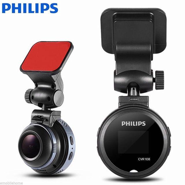 Philips mini hiden cameras camera hd car dash cam with loop record