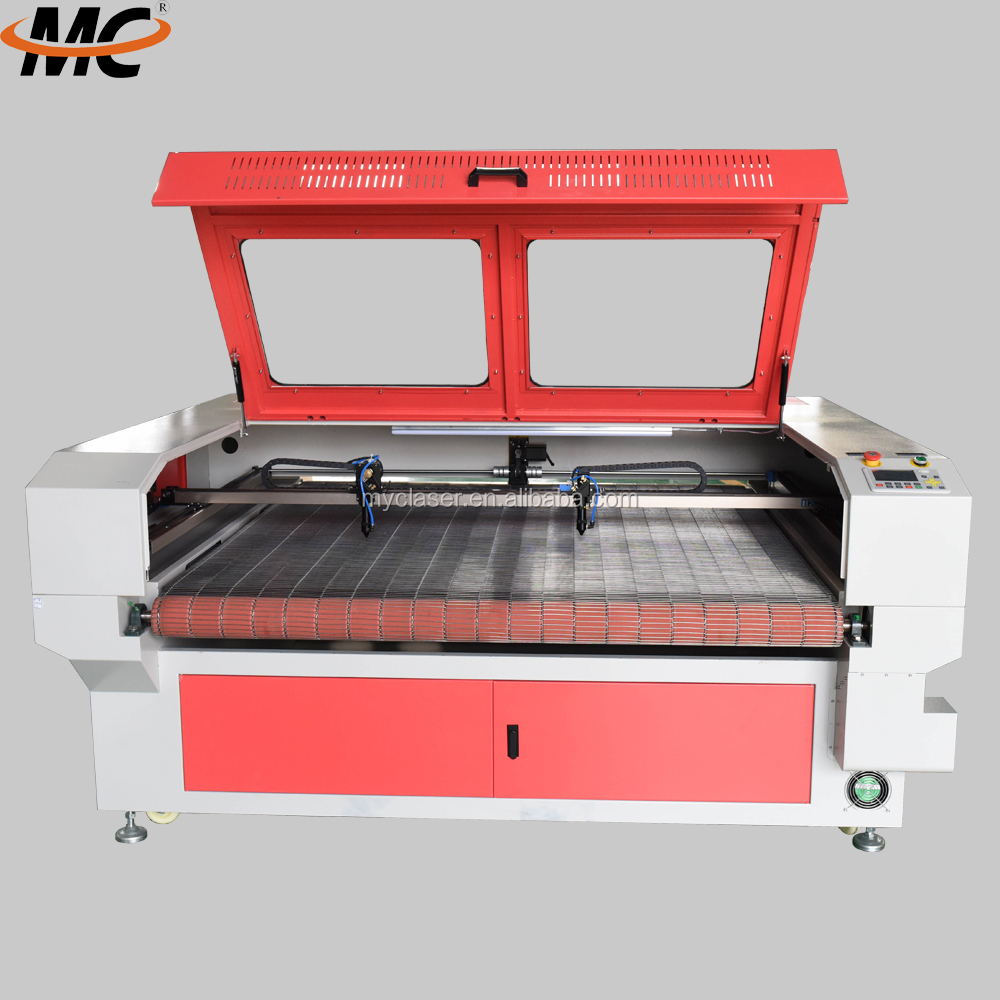 MC1810 computer controlled fabric cutting machine for clothes sofa plush toy