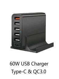 Chargeur rapide 50 W 6 Ports Multi-usb Chargeur Station De Recharge pour Téléphone X Téléphone 8 - ANKUX Tech Co., Ltd