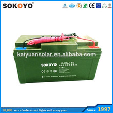 gel battery 12V 120AH with solar energy storage battery