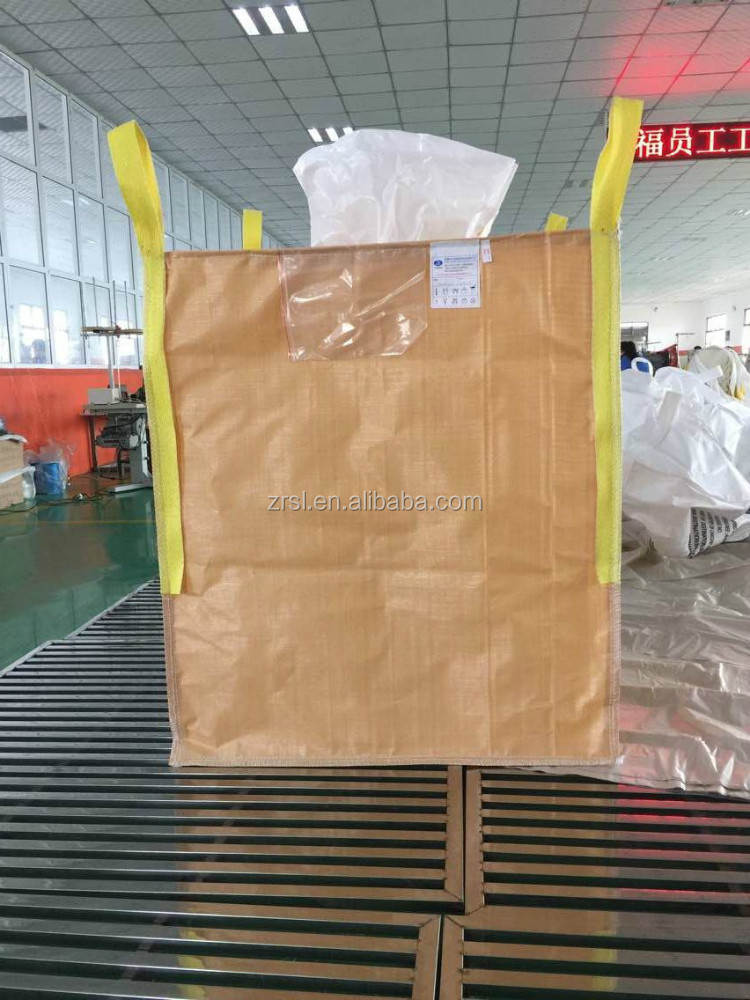 China supplier Large pp ton bag / Big FIBC bag spout for plastic container,jumbo bags 1 tone
