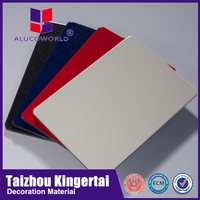 Alucoworld pe coating acp bathroom panel wall coverings aluminum composite panel