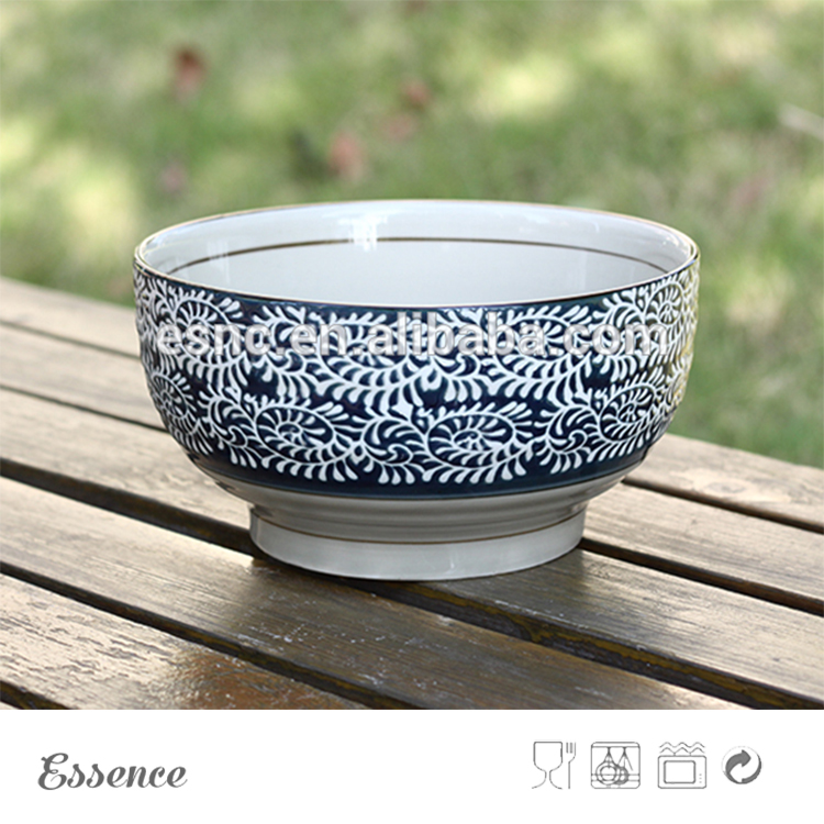 Japanese Style Ceramic Bowl with Chopstick