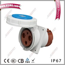 JESIRO zh 125A enchufe 3PIN enchufe socket 230 V de impermeable IP67 Oblicuo tomacorriente de suelo Industrial