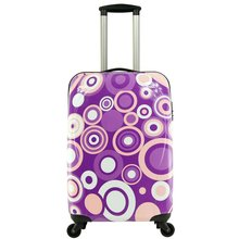 Colorful Trave Luggage, Aluminium trolley cosmetic case