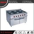 Restaurant Equipment stainless steel gas stove/gas cooker stove
