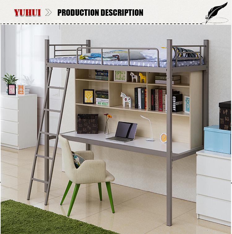 Desk bunk bed loft beds with desk buy desk bunk bed loft for Litera escritorio debajo