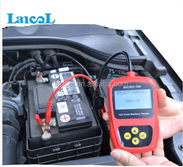 Auto battery tester/Car battery tester MICRO-100 Conductance Analyzer 12V