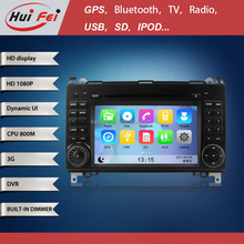 huifei Wince car GPS Navigation with steering wheel control,3G,Wifi for Benz Sprinter W906/W209/W311/W315/W318 (2006-2012)