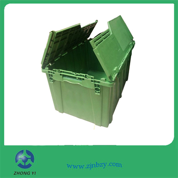 3 Hot sales plastic stackable moving bin plastic moving bin