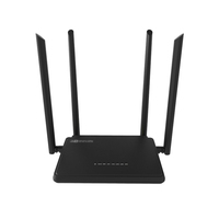 300Mbps Wireless Broadband Wi-Fi Router with 4 Antennas, CE/FCC