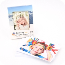 Real color glossy photo paper 115g to 300g A3, A4, 4R, 5R, 4X6, 5X7, 10X15 and letter size