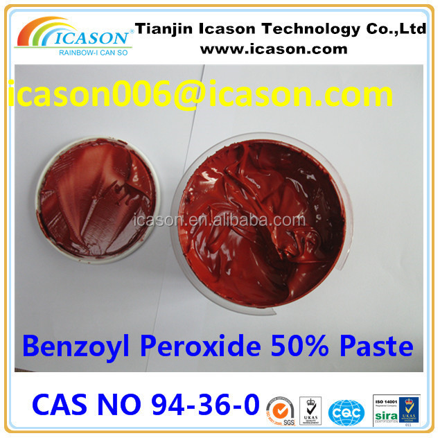 Induatrail Grade Best Price Initiator Benzoyl Peroxide 50% paste BPO reddish brown Benzoyl peroxide paste