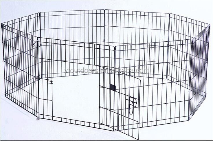 Eco-friendly metal dog cage kennel