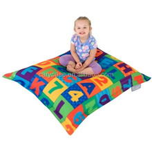 Numbers pattern funny bean bag chair , 1.2 .3 .4 learning print beanbag lounge sack