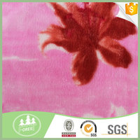 Newest Design 10 Years Experience Anti-Pilling Coral Fleece faux fur Fabric