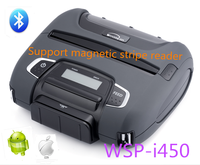 Woosim 112mm bluetooth thermal portable receipt printer, business card printing machine WSP-I450