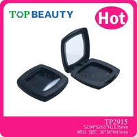 TP2915-1 Low MOQ Empty Matte Plastic Compact Powder Packaging Case