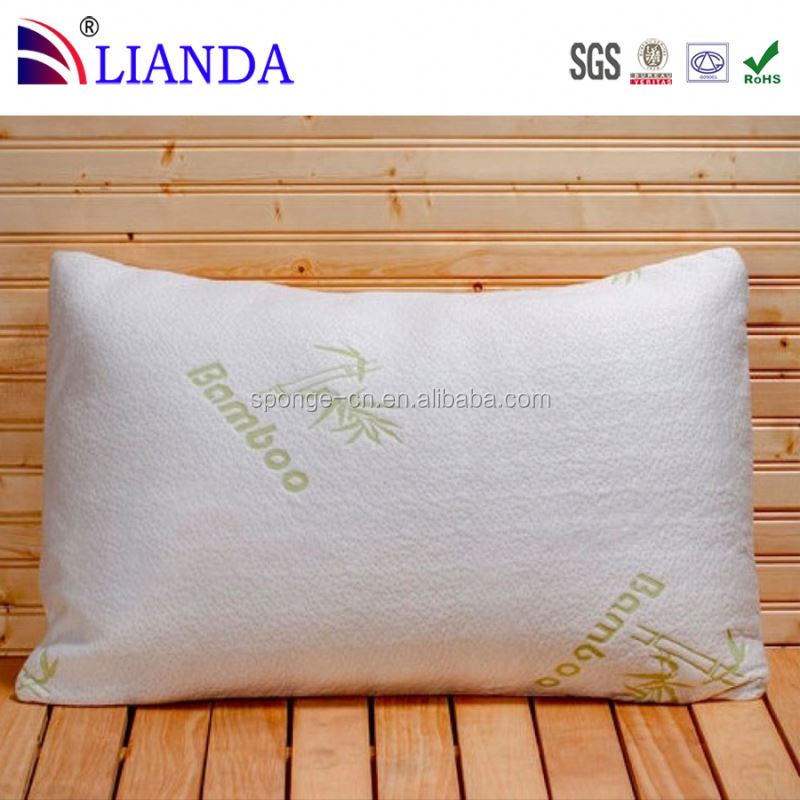 stay cool cover with zipper bamboo pillow shredded memory fo
