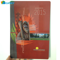 Color Printed Plastic PVC Diary Cover