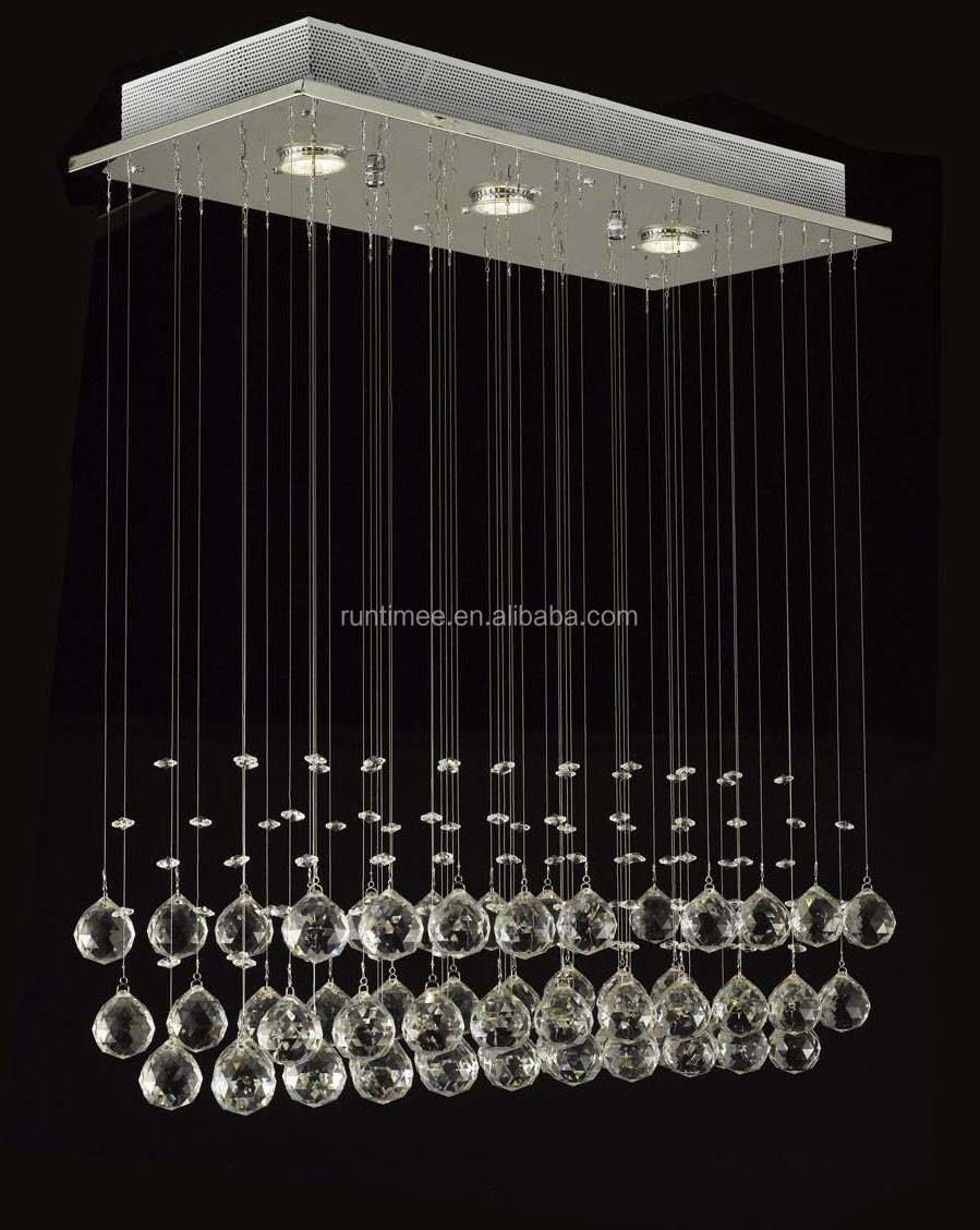 Modern chandelier rain drop lighting crystal ball fixture pendant chandelier rain drop lightingg aloadofball Gallery