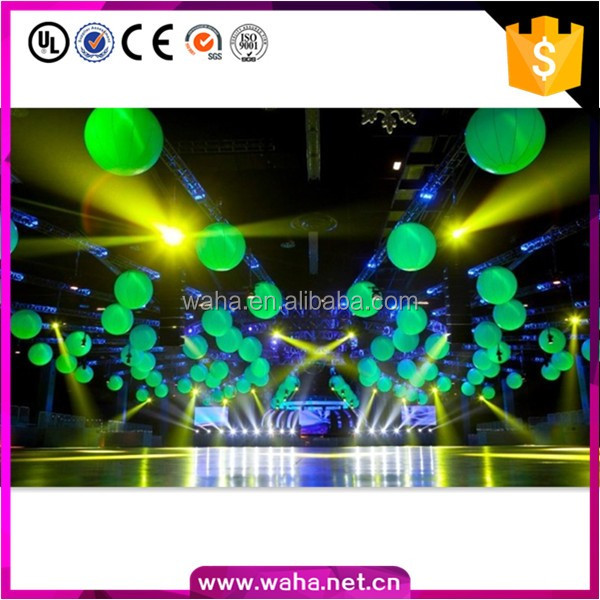 Carnival lighting inflatable led balloon
