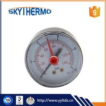 New style Outdoor micro pressure gauge types of industrial thermometer