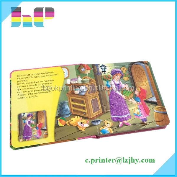 Children English Hardcover Pop Up Story My Hot Book