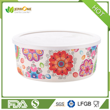 Baby Bamboo Bowl bamboo fiber Bio-degradable lunch box with cover
