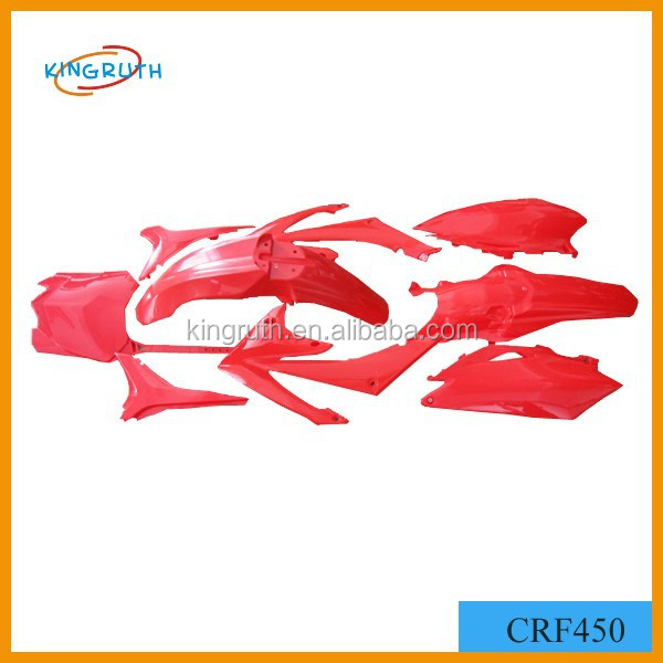 CRF 450 red motorcycle plastic parts high quality