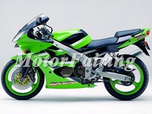Motorcycle Fairing for Kawasaki ZX-6R 636 00-02 ZX6R ZX636 Ninja Fairing Kits
