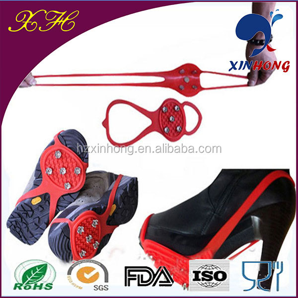 Alibaba Express Walker Antislip Silicone Ice Cleats For High Heel Shoes