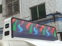 Outdoor mobile Taxi Top P5 LED Digital display Full Color Screen